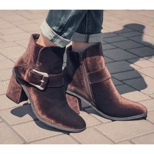 MUK LUKS Josephine Water-Resistant Ankle Boots